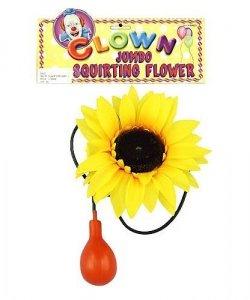 Akcesoria klauna - Słonecznik tryskający wodą
