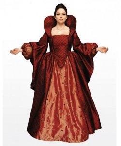 Kostium teatralny - Katarzyna de Medici