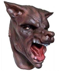 Maska lateksowa - Wilk