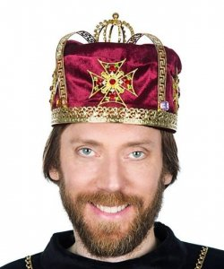 Korona z wkładem - King Deluxe II Red