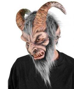 Maska lateksowa - Krampus Deluxe