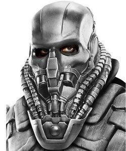 Maska lateksowa z filmu - Man of Steel General Zod