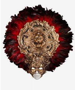 Maska wenecka - Artemis Gold