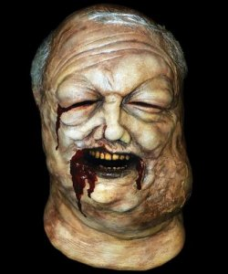 Maska lateksowa - The Walking Dead Zombie ze studni