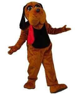 Strój chodzącej maskotki - Pies Jęzorek