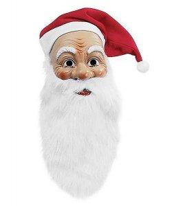 Maska lateksowa - Święty Mikołaj Classic