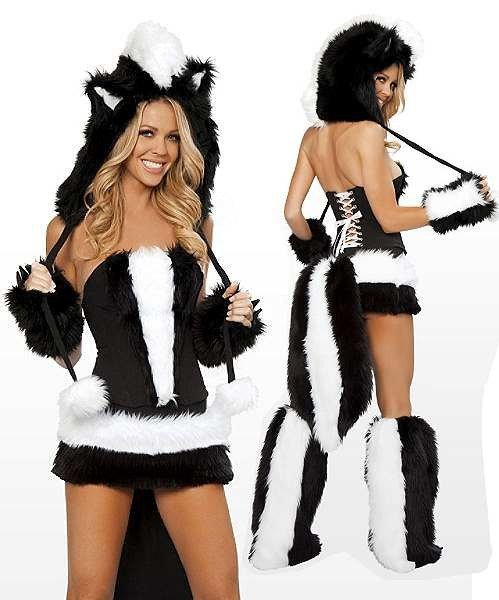 Seksowny kostium - Skunks