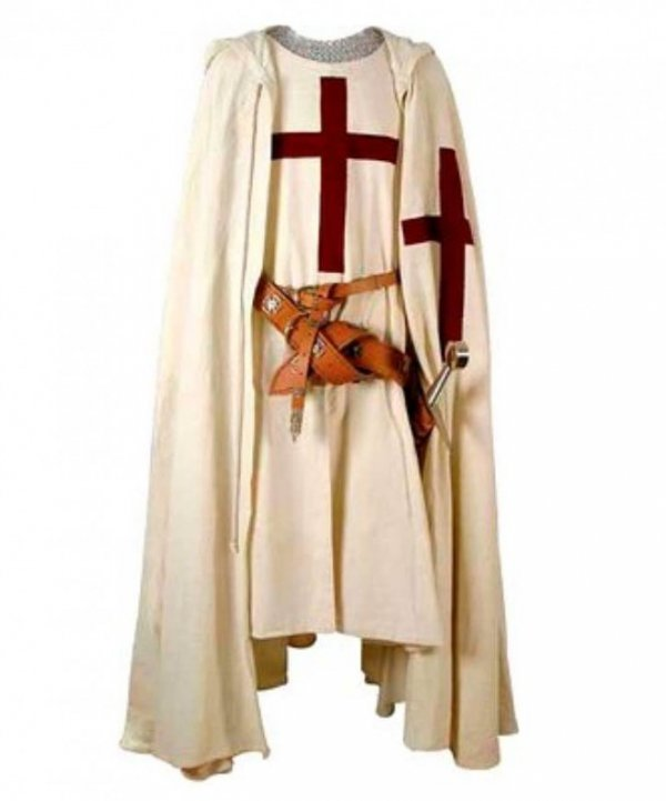 Kostium teatralny - Krzyżowiec
