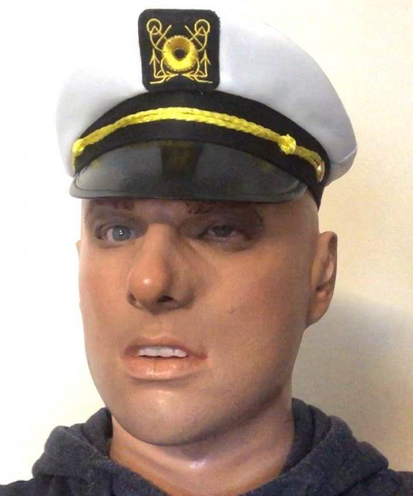 Lestat marynarz realistyczna twarz męska
