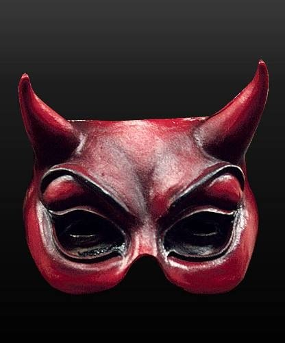 Maska lateksowa - Mefisto II