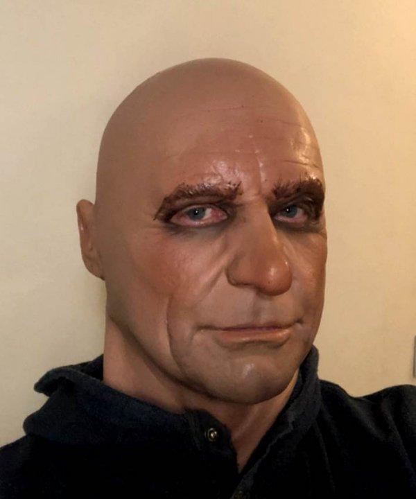 Maska lateksowa - Shone Agent 007