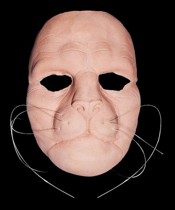 Maska klejona na twarzy - Lew Deluxe