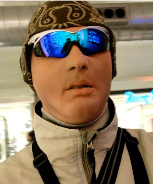 Maska Viktor narciaż