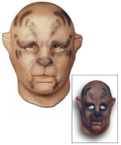 Maska lateksowa - Puma