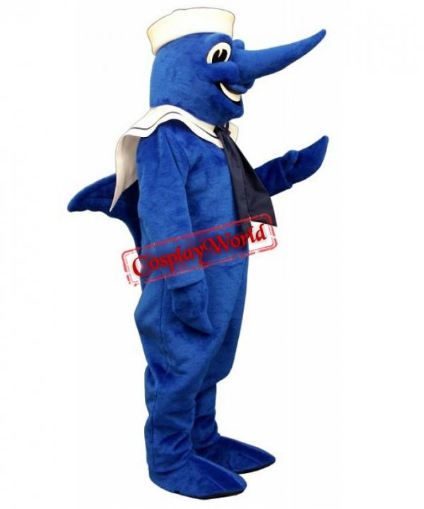 Marlin marynarz strój reklamowy