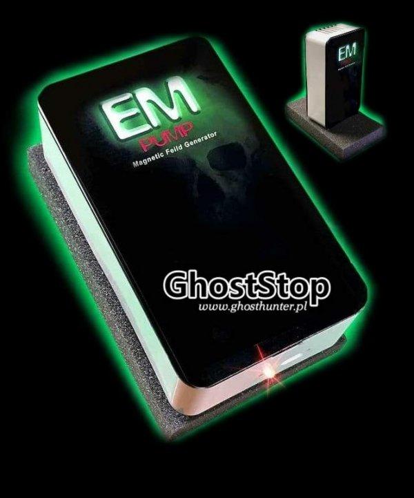 Ghost Hunters - Generator pola elektromagnetycznego (EMF) - EM Pump