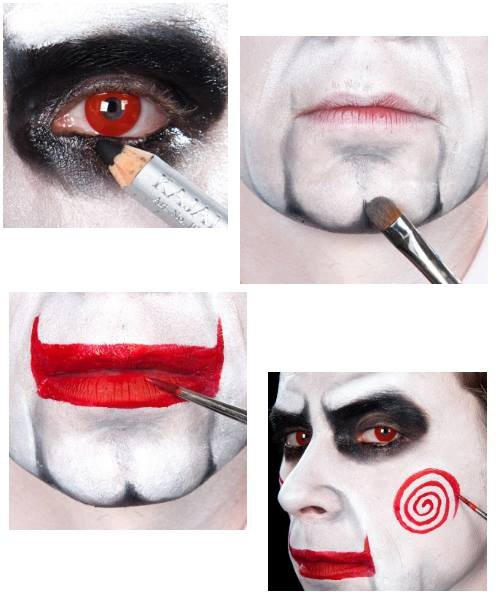 Zestaw do charakteryzacji FX - The Saw Jigsaw Puppet
