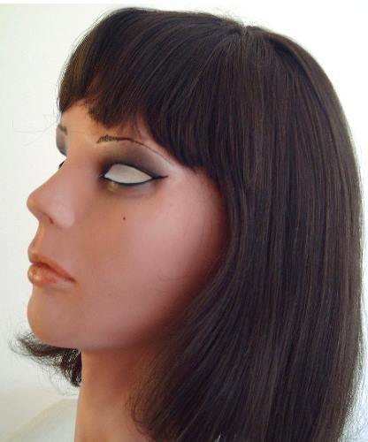 Maska lolita po założeniu peruki