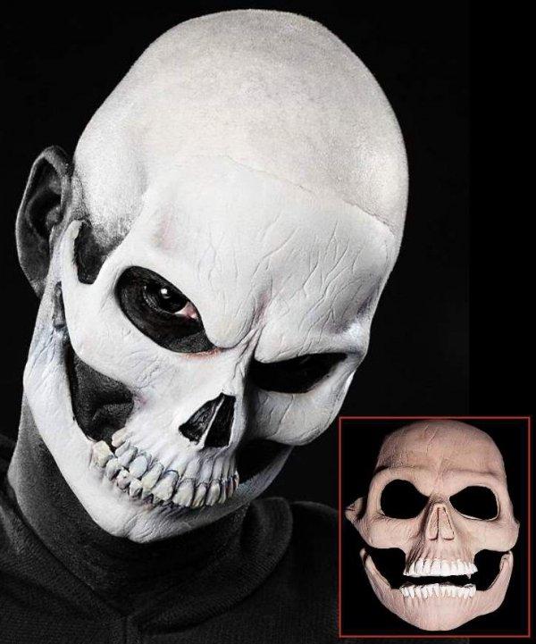 Aplikacja lateksowa klejona do twarzy - Śmierć