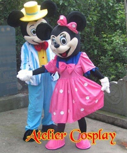 Maskotki reklamowe - Miki & Minnie Wczasy 2012