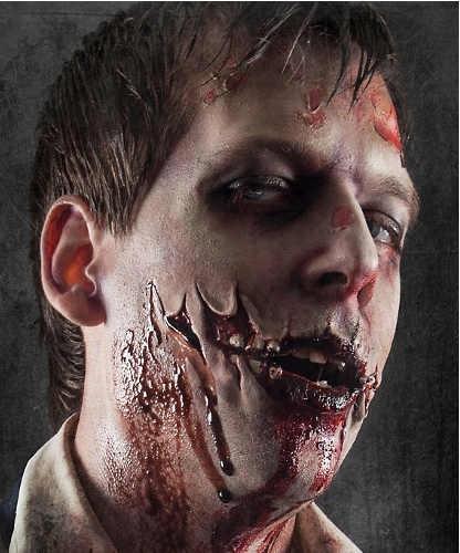 Sztuczna rana - The Walking Dead Zombie