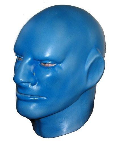 Maska lateksowa - Blue Man