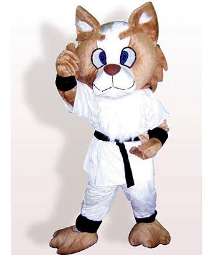 Strój reklamowy - Kot Karate Kid