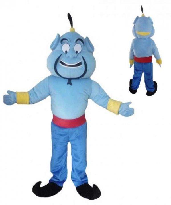Kostium reklamowy chodząca żywa duża maskotka mega strój Aladdin