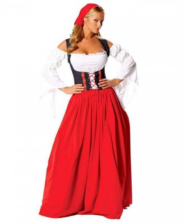 Kostium teatralny - Heidi