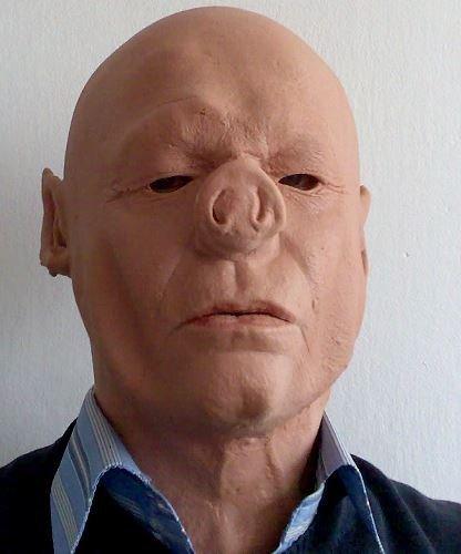 Maska lateksowa - Pigman