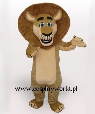 Strój reklamowy - Lew Madagaskar