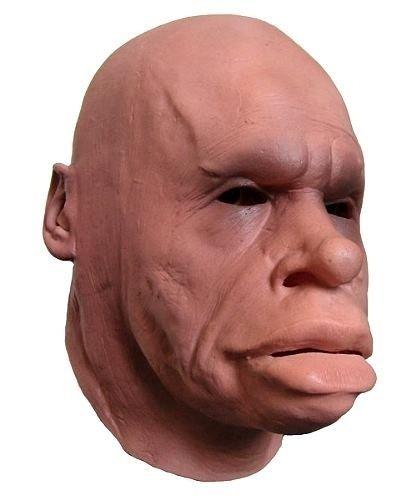 Maska lateksowa - Neandertalczyk