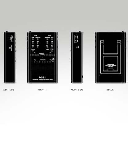Ghost Hunters - P-SB11 Spirit Box AM/FM + REM