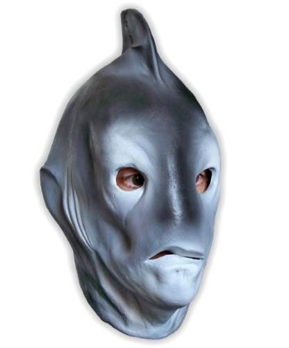 Maska lateksowa - Rekin