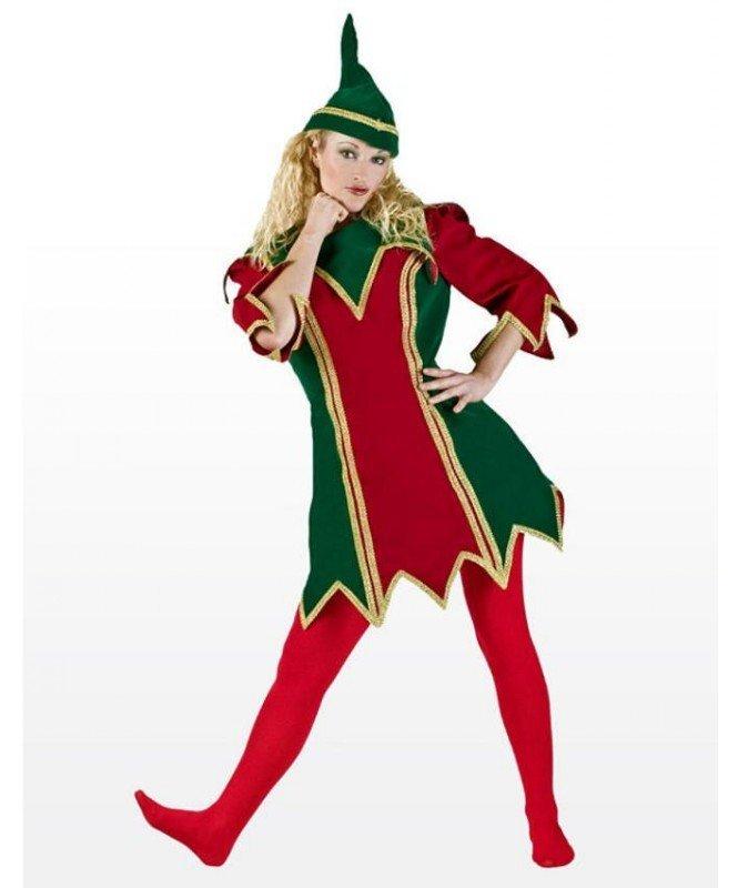 Profesjonalny kostium świąteczny - Bożonarodzeniowa Elficzka