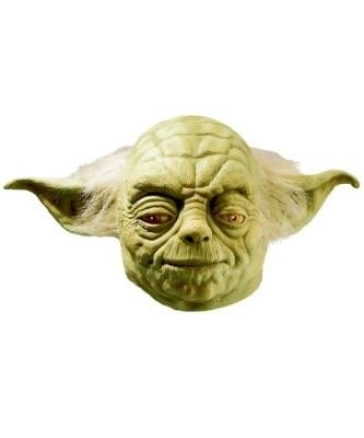 Maska lateksowa - Star Wars Yoda