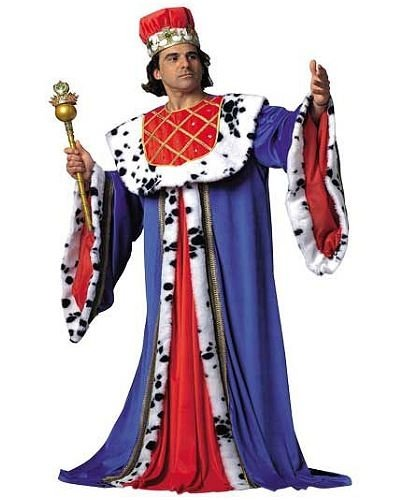 Kostium - Średniowieczny Król