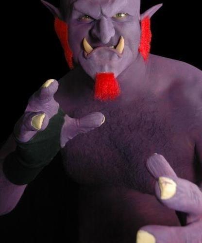 Lateksowe rękawice - Ręce trolla