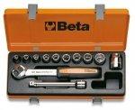 Beta 910B/C10 Zestaw nasadek 3/8 z wyposażeniem 10szt
