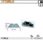Beta 1772RL/2 Ostrza trapezowe długie w pudełku cena za 10 szt do noży 1772A 1772B 1772C 1772G 1772D/M 1774