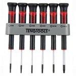 TENGTOOLS Zestaw 6 wkrętaków precyzyjnych TX6-TX15