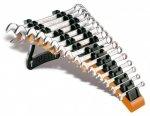 Beta 42/SP15 Zestaw 15 kluczy płasko-oczkowych ze stojakiem