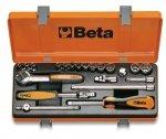 Beta 900/C13-8 Zestaw nasadek 1/4+ akcesoria 21szt