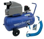 ADLER sprężarka jednocylindrowa AD 244-50 8BAR + akcesoria
