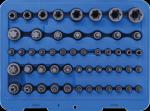 BGS Nasadki E-Torx, 5-katne, bity Torx zestaw 52szt