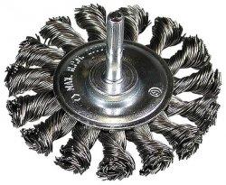 HITACHI Szczotka kołowa 75x6mmx0,5mm pleciona