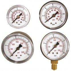 ADLER Wskaźnik ciśnienia 0-12bar 1/4 tylny