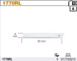 Beta 1770RL Ostrza 9mm opak. 10 szt.
