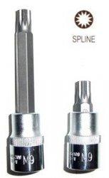 Jonnesway Klucz wpustowy SPLINE M7x100 z nasadką 1/2 S64H4207