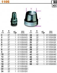 Beta 1105/2 Wycinak rymarski fi 2mm
